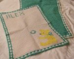 Child's pram blankets