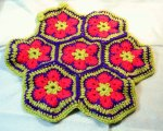 Hexagonal cushion