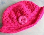 Pink twinkle hat