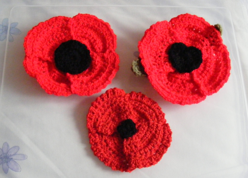 Crochety Rabbit poppies
