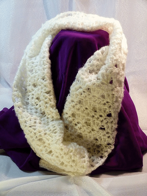 Crochety Rabbit scarves
